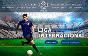 Liga Internacional lanza nueva web