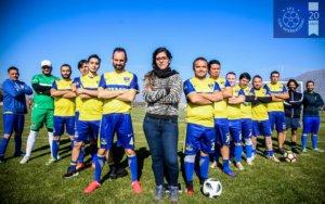 KATHERINE PINO, LA TECNÓLOGA MÉDICA Y ENTRENADORA DE HURACÁN FC